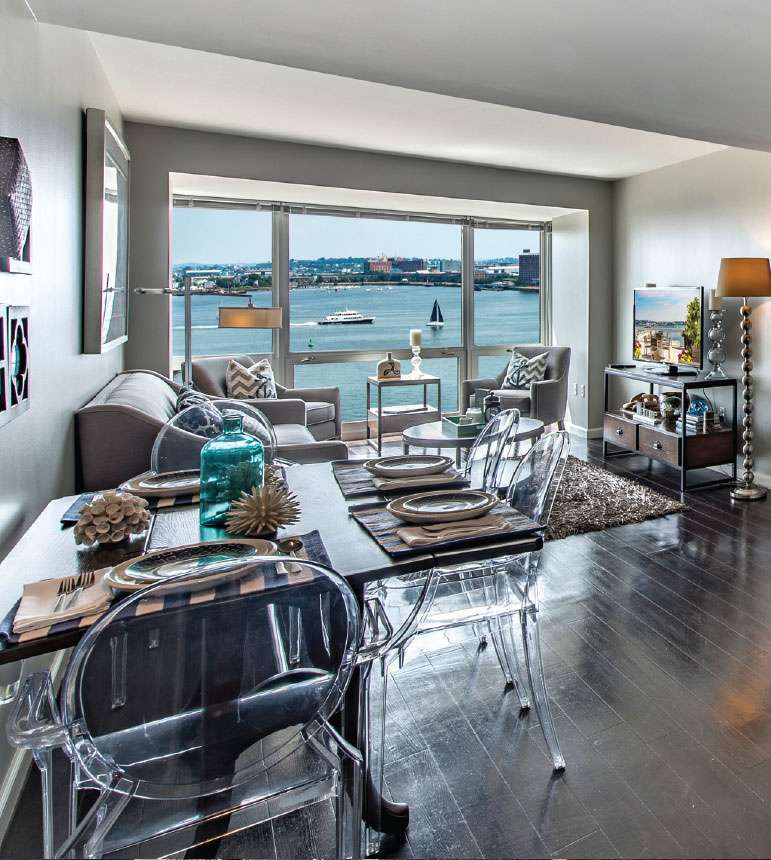 Park lane seaport apartment features